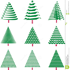various tree designs stock vector image 4990231
