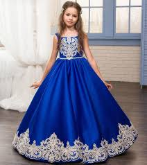 kids wedding dresses applique flower girl dresses princess pageant dresses kids