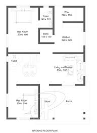two bedroom home ground floor house plan 2 bedroom house plans in sq m two bedroom