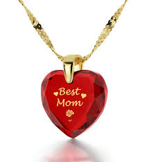 long red heart necklace images Top gifts for mom 14k gold necklace surprise mom now nano jewelry jpg