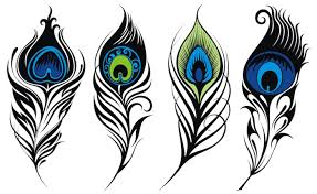 peacock feather tattoos with meaning