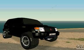 mitsubishi pajero sport modified mitsubishi pajero intercooler turbo 2800 for gta san andreas