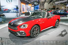 listen to the angry exhaust of the 2017 fiat 124 spider abarth