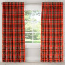 Tartan Drapes Buffalo Plaid Curtains Target