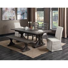 8 Pc Dining Room Set Charcoal 8 Piece Dining Set Paladin Collection Rc Willey