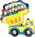 Image result for truck birthday balloons