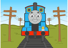thomas train vector free download free vector art stock