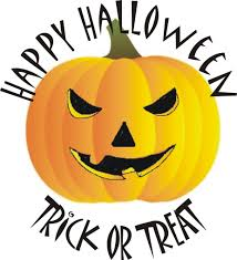 scary halloween pumpkins clipart 49