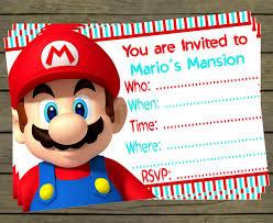 mario invitations 28 free downloadable mario party invites super mario birthday