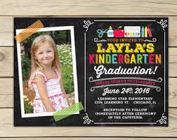 create your own graduation announcements kindergarten graduation announcements cloveranddot