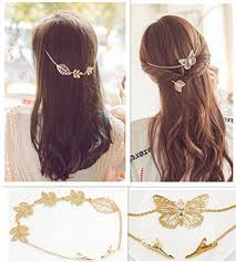 rhinestone hair qtmy 2 pcs butterfly leaves branches rhinestone hair