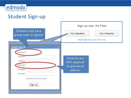 edmodo sign in edmodo teacher training presentation