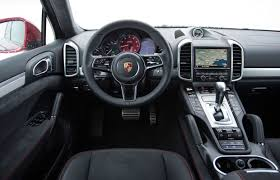 porsche interior 2016 test the power of 2017 porsche cayenne turbo s yourself