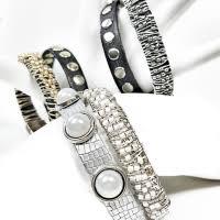 stacking bracelets beaded leather bracelet stacking leather bracelet wrap your style