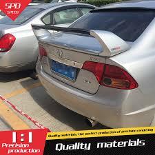 honda civic spoiler brake light for honda civic spoiler high quality abs material car rear wing