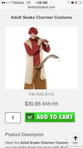 Snake Charmer Halloween Costume Official 2015 Halloween Thread Vol Costume Ideas Niketalk