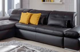 Black Sleeper Sofa Alpine Sectional Sleeper Sofa Left Arm Chaise Facing Black
