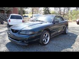 95 mustang gt 1995 ford mustang gt 5 0 convertible start up exhaust and in