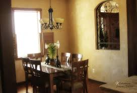 dining room table tuscan decor interior design