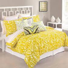 amazon com trina turk 3 piece ikat comforter set king yellow