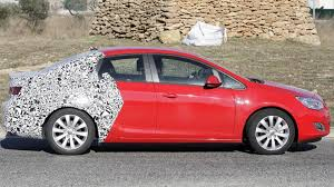 opel christmas 2013 opel astra sedan spied
