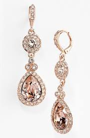 rose gold necklace womens images Earring diamond earrings for women rose gold jewelry gold jpg