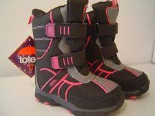 s totes boots size 12 totes liam blk orange boots size 12 m ebay