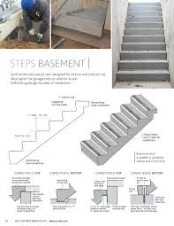 ed u0027s concrete products precast home exterior basement steps