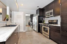 modern kitchen with high ceiling u0026 one wall in secaucus nj