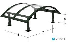 pensilina tettoia in policarbonato plexiglass tettoie tettoie in ferro tettoie per ingressi pensiline