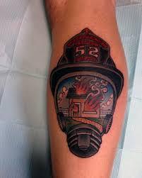 50 firefighter tattoos for masculine fireman ideas