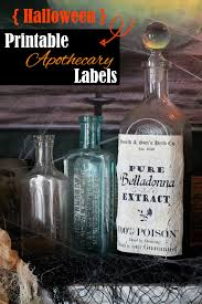 Printable Halloween Drink Labels by Free Halloween Apothecary Printables Confessions Of A New Old