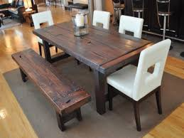 dining room sets with bench emejing dining room table set with bench contemporary