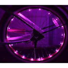 walmart red led christmas lights wheel brightz power pink led bicycle safety light lightweight bike