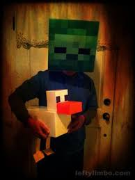 Minecraft Villager Halloween Costume Minecraft Zombie Costume Halloween Costumes