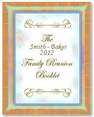 family reunion booklet sle family reunion booklet maker