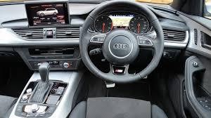 audi a6 interior at audi a6 avant estate interior dashboard satnav carbuyer