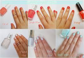 summer nail colors feelbella