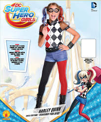 halloween costumes for kids girls 10 and up at party city amazon com rubie u0027s dc superhero u0027s harley quinn costume