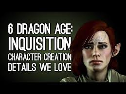 Dragon Age Meme - 6 dragon age inquisition character creation details we love and