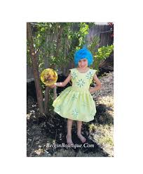 inside out costumes pageant ooc inside out dress pixar costplay casual