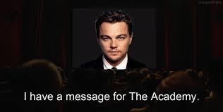 Leo Oscar Meme - my gif gif lol film leonardo dicaprio inglourious basterds oscars