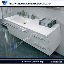 Solid Surface Vanity Tops For Bathrooms by Corian Bathroom Cabinets White Solid Surface Vanities Corian