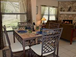 Round Dining Room Sets Friendly Atmosphere Must See Highly Rated Pet Friendly Fence Vrbo