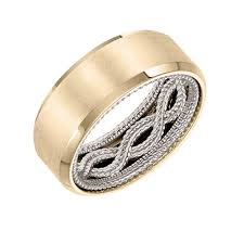 mens gold wedding band men s gold jewellery and wedding bands