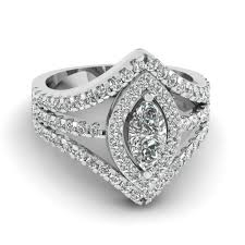 diamond shaped rings images Marquise shaped diamond engagement ring in 950 platinum jpg