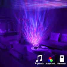 remote control ocean wave projector 12 led u0026 7 colors night light