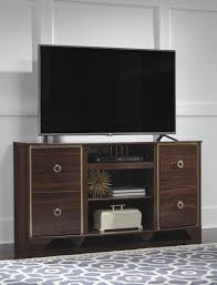 ashley furniture w247 68 lenmara reddish brown tv television stand