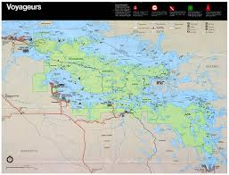 National Park Map Usa by