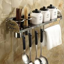 fourniture de cuisine 304 multi but cuisine étagères de stockage rack assaisonnement rack